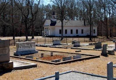 Lickville Presbyterian Church and Cemetery image. Click for full size.