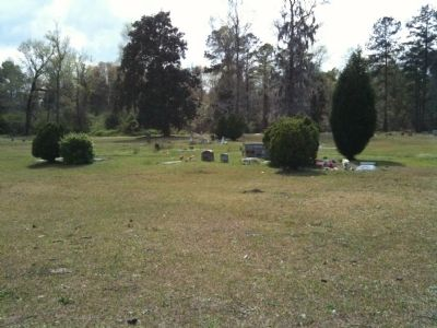 Methodist church cemetery image. Click for full size.