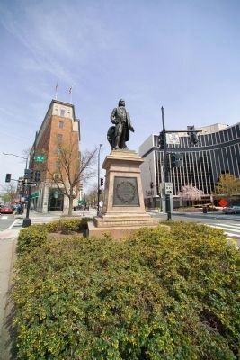 John Witherspoon Monument image. Click for full size.