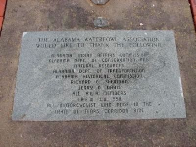 The Alabama Waterfowl Association Marker image. Click for full size.