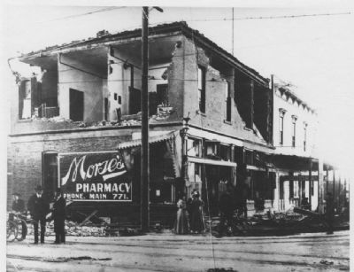 Morse's Drug Store Damage From the 1906 Earthquake image. Click for full size.