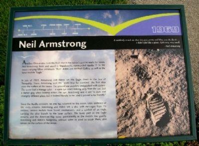 Neil Armstrong Marker image. Click for full size.