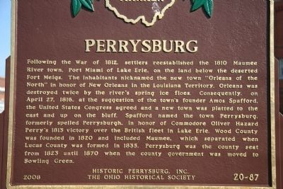 Perrysburg Marker image. Click for full size.
