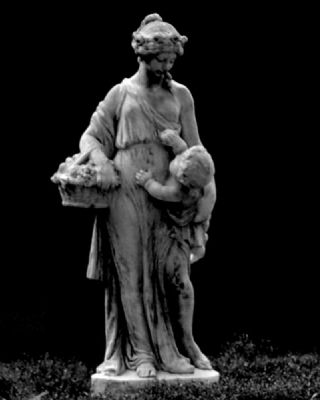 Cokesbury Garden Statue image. Click for full size.