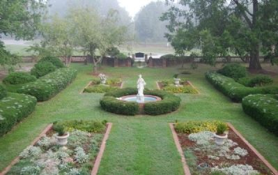 Cokesbury Garden -<br>From Second Story Balcony image. Click for full size.