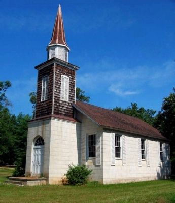 Cokesbury Village -<br>Mt. Arial Church image. Click for full size.