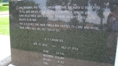State of Ohio Korean War Memorial Dedication image. Click for full size.