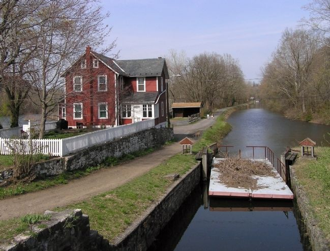 The restored section of the Lehigh Canal image. Click for full size.