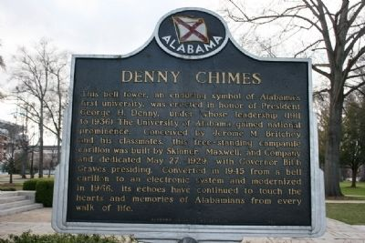 Denny Chimes Marker Side A image. Click for full size.