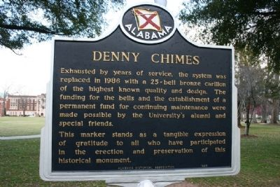Denny Chimes Marker Side B image. Click for full size.