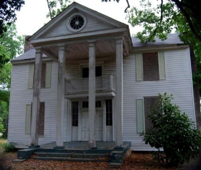 Cokesbury Village -<br>Connor-Hodges House image. Click for full size.