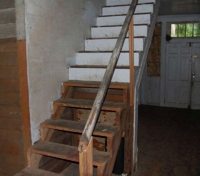 Connor-Hodges House -<br>Interior First Floor<br>Stairs Leading Upstairs image. Click for full size.