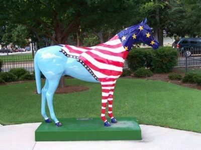 A painted Horse of the City of Aiken image. Click for full size.