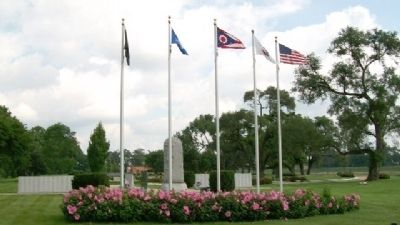 State of Ohio Korean War Memorial image. Click for full size.
