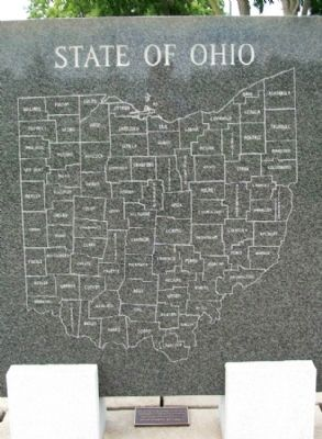 State of Ohio Korean War Memorial - Ohio image. Click for full size.