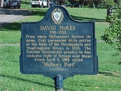 David McKee Marker image. Click for full size.
