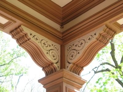 Architectural Detail - Support Posts on Porch image. Click for full size.