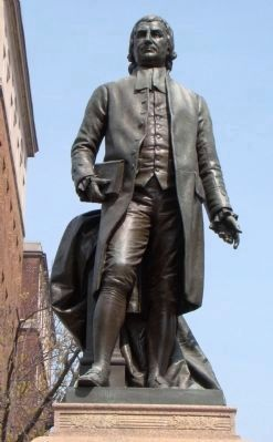 Doctor John Witherspoon Sculpture image. Click for full size.