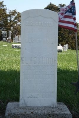Gravestone of Blackhoof image. Click for full size.