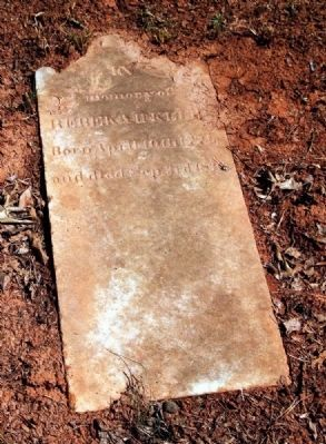 Rebeka Klugh (1774-1834)<br>Tombstone image. Click for full size.