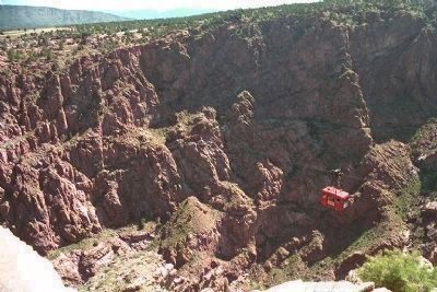 Royal Gorge Tram image. Click for full size.