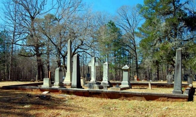Tabernacle Cemetery -<br>Gary / Evans Family Plot image. Click for full size.