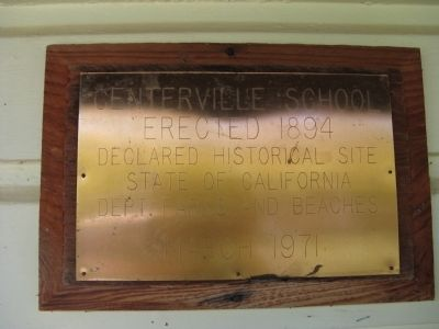 A Plaque Mounted on the Building image. Click for full size.