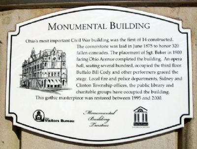 Monumental Building Marker image. Click for full size.