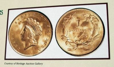 "Right Section - Photo ""$1 Gold Coins"" image. Click for full size."