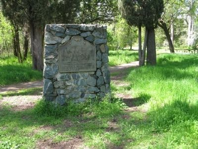 Chico Forestry Station and Nursery Marker image. Click for full size.