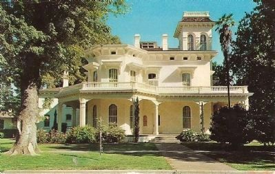 Southern View of the Bidwell Mansion image. Click for full size.