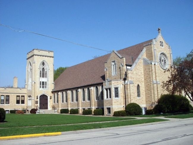 Pontiac - First Presbyterian Church image. Click for full size.