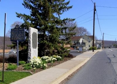 Wide view of the Sullivan's March Marker image. Click for full size.