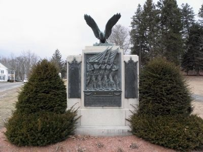 Northborough World War I Memorial image. Click for full size.