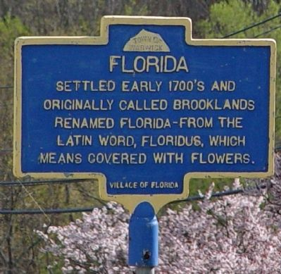 Florida Marker image. Click for full size.