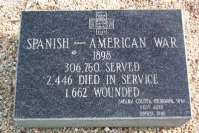 Harrod Veterans Memorial Park Marker image. Click for full size.