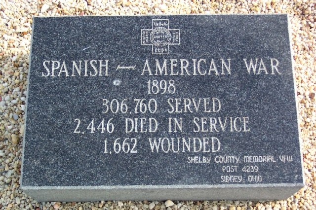Harrod Veterans Memorial Park Marker