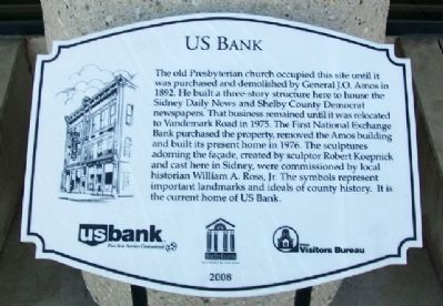 US Bank Marker image. Click for full size.
