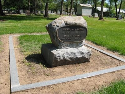 John and Annie K. Bidwell Gravesite image. Click for full size.