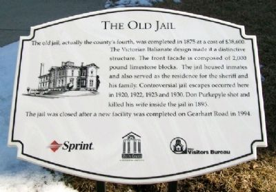 The Old Jail Marker image. Click for full size.