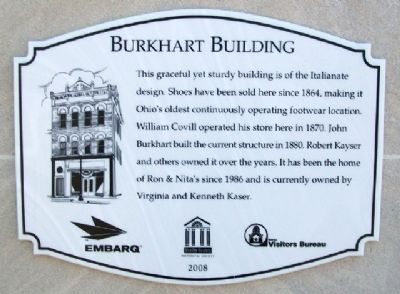 Burkhart Building Marker image. Click for full size.