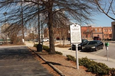 R.L. Bryan Co. Warehouse Marker, looking east on Lady Street image. Click for full size.
