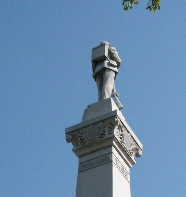 Obverse Right View - - Top Statue image. Click for full size.