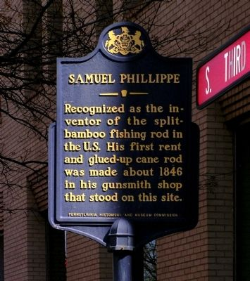 Samuel Phillippe Marker image. Click for full size.