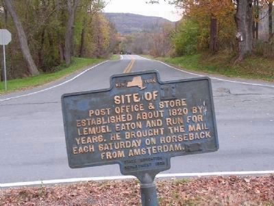 Eatons Corners Post Office & Store Marker image. Click for full size.
