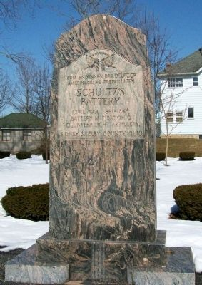 Schultz's Battery Memorial image. Click for full size.