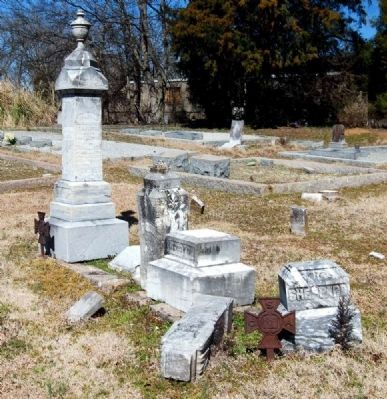 Broken and Fallen Tombstones image. Click for full size.