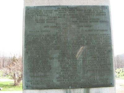 New Hartford Soldiers Memorial image. Click for full size.