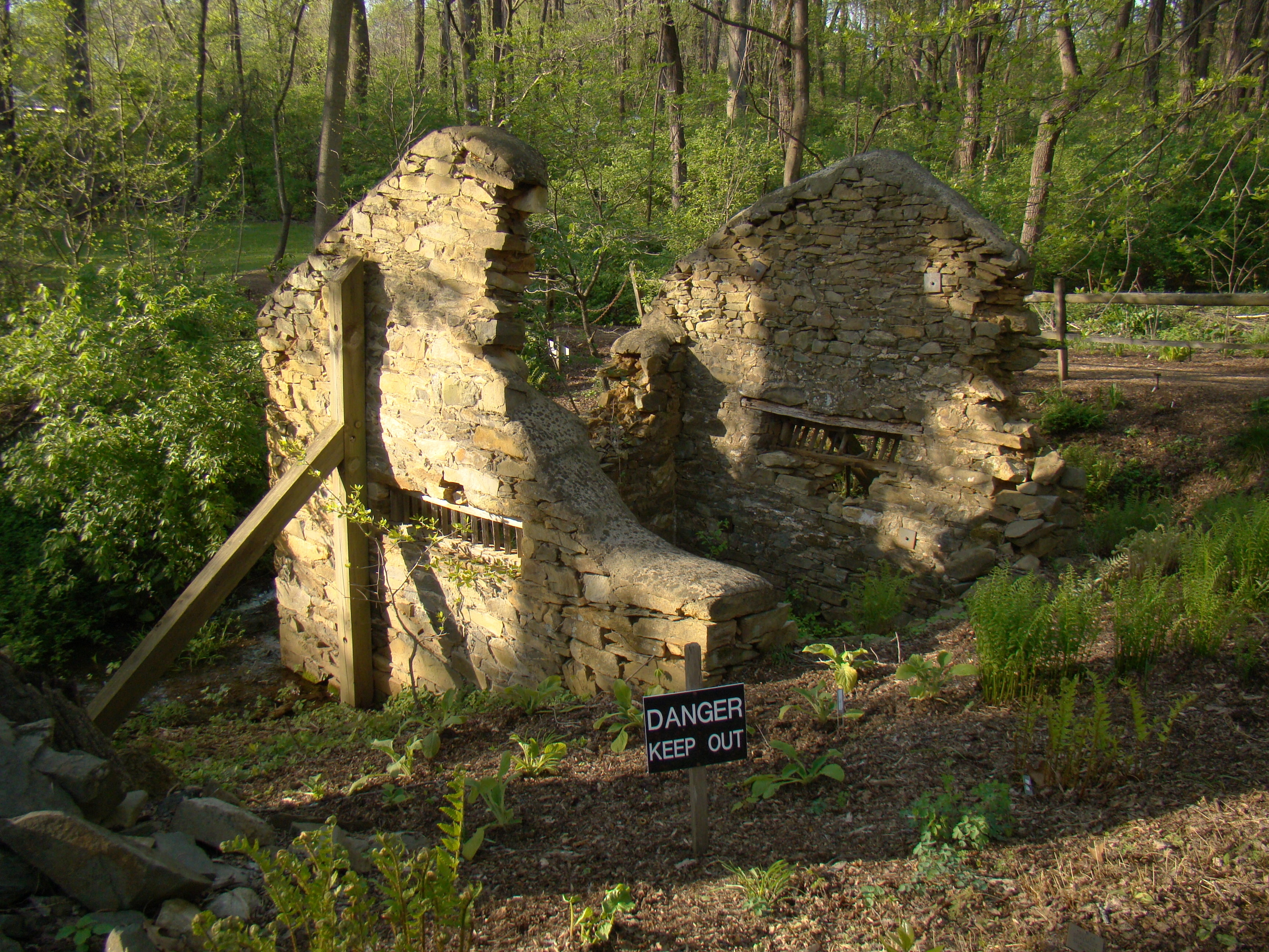 The Springhouse Ruins