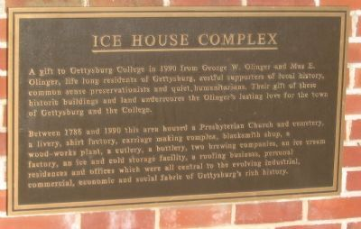 Ice House Complex Marker image. Click for full size.